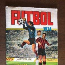 Album de football complet: ALBUM RUIZ ROMERO 1974 CAMPEONATO DE LIGA 74 COMPLETO MAS 14 CROMOS DOBLES SUELTOS. Lote 208865171