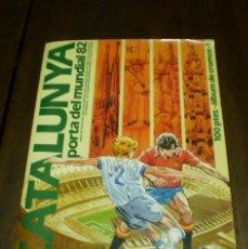 Álbum de fútbol completo: DIARI AVUI - CATALUNYA PORTA DEL MUNDIAL 82. Lote 265943818