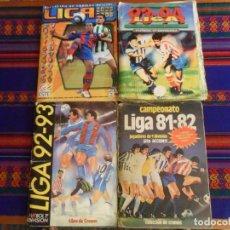 Caderneta de futebol completa: ESTE CAMPEONATO DE LIGA 81 82 1981 1982 AGUIRREOA COMPLETO, 92 93 Y 93 94 INCOMPLETO. REGALO 05 06.. Lote 209127398