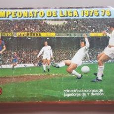 Álbum de fútbol completo: ALBUM COMPLETO TODO EDITADO -3 LIGA ESTE 75 76 1975 1976 DOMINGO, CORDERO, FICHAJES, DOBLES... Lote 209339555