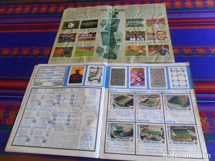 Álbum de fútbol completo: PANINI ESPAÑA 82 MUNDIAL FÚTBOL 1982 EN ACCIÓN COMPLETO RUSIA 2018 INCOMPLETO REGALO MEJORES EQUIPOS - Foto 3 - 209808918