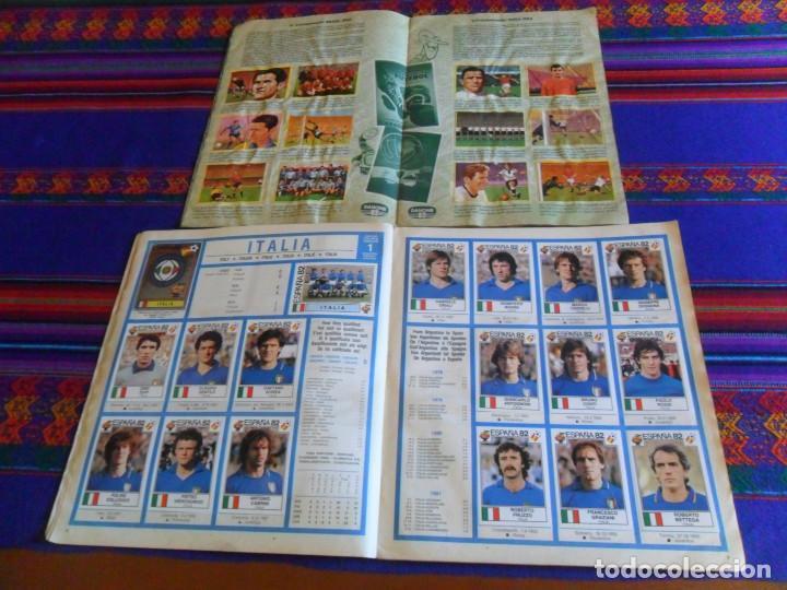 Álbum de fútbol completo: PANINI ESPAÑA 82 MUNDIAL FÚTBOL 1982 EN ACCIÓN COMPLETO RUSIA 2018 INCOMPLETO REGALO MEJORES EQUIPOS - Foto 4 - 209808918