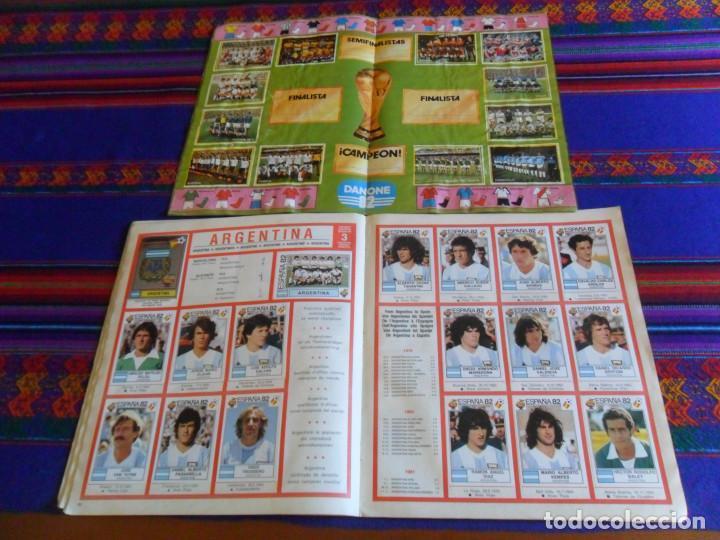 Álbum de fútbol completo: PANINI ESPAÑA 82 MUNDIAL FÚTBOL 1982 EN ACCIÓN COMPLETO RUSIA 2018 INCOMPLETO REGALO MEJORES EQUIPOS - Foto 6 - 209808918