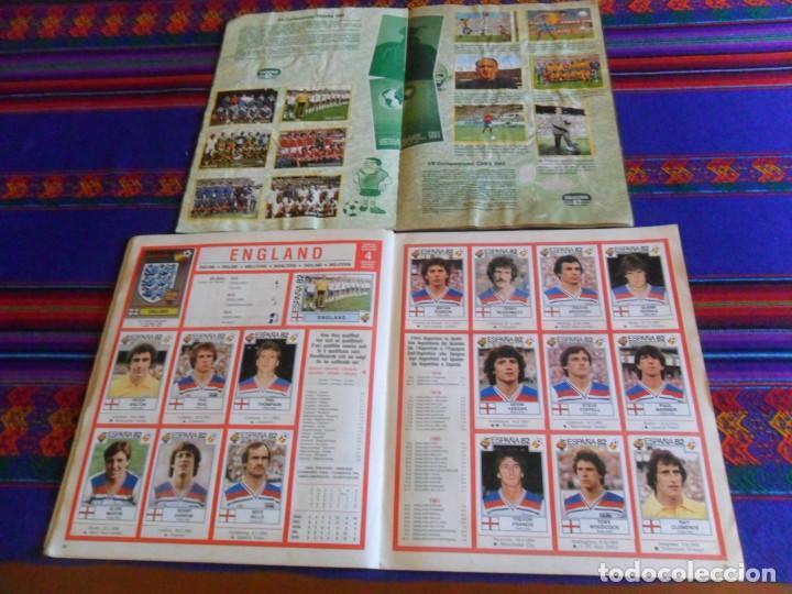 Álbum de fútbol completo: PANINI ESPAÑA 82 MUNDIAL FÚTBOL 1982 EN ACCIÓN COMPLETO RUSIA 2018 INCOMPLETO REGALO MEJORES EQUIPOS - Foto 7 - 209808918