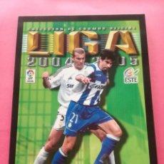 Álbum de fútbol completo: ALBUM FACSIMIL ESTE LIGA 2005-2006 + FASCICULO COLECCION CROMOS INOLVIDABLES - PANINI 05/06 SALVAT. Lote 209847728