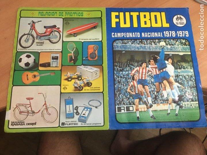 Álbum de fútbol completo: FUTBOL CAMPEONATO NACIONAL LIGA 1978 - 1979 RUIZ ROMERO ALBUM COMPLETO (AB-2) - Foto 10 - 210239317