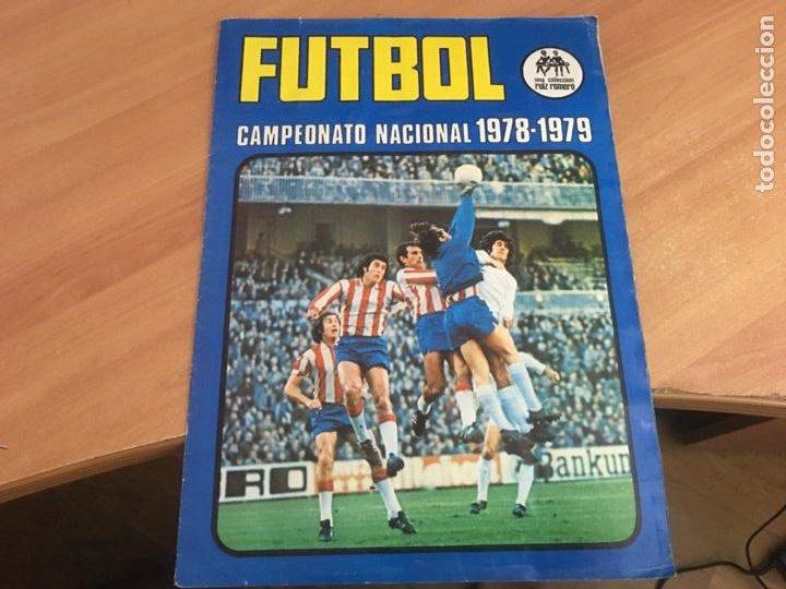 FUTBOL CAMPEONATO NACIONAL LIGA 1978 - 1979 RUIZ ROMERO ALBUM COMPLETO (AB-2) (Coleccionismo Deportivo - Álbumes y Cromos de Deportes - Álbumes de Fútbol Completos)