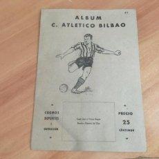 Álbum de fútbol completo: ALBUM COMPLETO ATH.BILBAO 1941 VALENCIANA. (COIB96). Lote 210241847