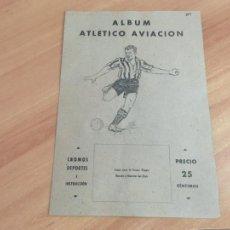 Álbum de fútbol completo: ALBUM COMPLETO FUTBOL ATLETICO AVIACION 1941 VALENCIANA. (COIB96). Lote 210242402