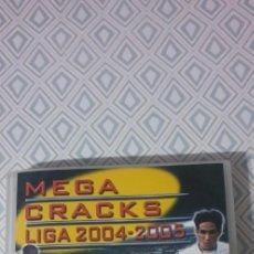 Álbum de fútbol completo: ALBUM MEGACRACKS 2004/2005 MUY COMPLETO MAS DE 550 CARDS.. Lote 210256107