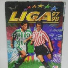 Álbum de fútbol completo: ALBUM COMPLETO. LIGA 97/98. COLECCIONES ESTE. CONTIENE 47 COLOCA. 61 DOBLES. VER FOTOS.. Lote 210277987