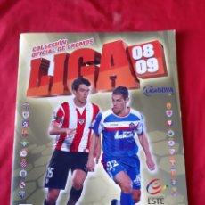 Álbum de fútbol completo: ÁLBUM DE CROMOS LIGA ESTE 2008/2009 LLEVA 60 CROMO. Lote 210589823