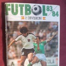 Álbum de fútbol completo: FÚTBOL 83-84, 1983-1984 -1ª DIVISIÓN-CROMOS CANO-COMPLETO. Lote 210602057