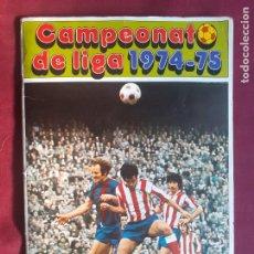 Álbum de fútbol completo: ALBUM CAMPEONATO DE LIGA 1974 - 1975 , FHER. COMPLETO FALTAN ADHESIVOS Y FICHAJES. Lote 210602666