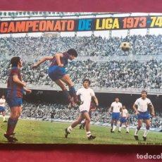 Álbum de fútbol completo: ÁLBUM DE FÚTBOL, CAMPEONATO DE LIGA 1973-74, FHER INCLUYE POSTER CENTRAL. Lote 210603065