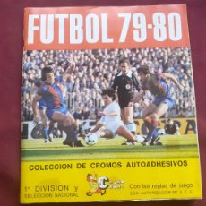 Álbum de fútbol completo: ALBUM FUTBOL LIGA CROMO CROM 79-80 COMPLETO 1979-1980. Lote 210603288