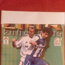 Álbum de fútbol completo: COLECCIÓN COMPLETA LIGA ESTE 2004/05. Lote 210615992