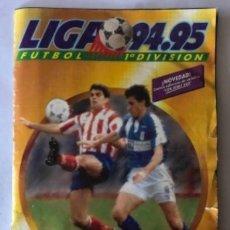 Álbum de fútbol completo: LIGA 94/95, ÁLBUM DE CROMOS MUY COMPLETO. 440 CROMOS. (VER FOTOS).. Lote 210617376