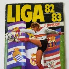 Álbum de fútbol completo: ÁLBUM COMPLETO LIGA 82-83. Lote 210617893