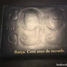 Album de football complet: ÁLBUM DEL BARÇA CENTENARIO 1899-1938 , 1939-1972 , 1973-1999 100 AÑOS DEL BARÇA EN CROMOS. Lote 210774059