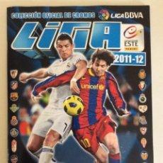 Álbum de fútbol completo: ÁLBUM COMPLETO 2011- 2012 -LUJO MUY NUEVO SIN DOBLE NI ROTURAS. Lote 210821207