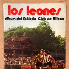 Álbum de fútbol completo: LOS LEONES. ALBUM CROMOS COMPLETO DEL ATHLETIC CLUB DE BILBAO. CHOCOLATES SUCHARD 1974. Lote 211512019