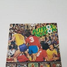 Álbum de fútbol completo: ALBUM FÚTBOL EN ACCIÓN DANONE 82 (COMPLETO). Lote 211622774