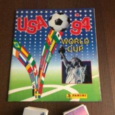Caderneta de futebol completa: PANINI USA 94 COLECCION COMPLETA SIN PEGAR 444 CROMOS WORLD CUP CON ALBUM VACIO. Lote 211761918