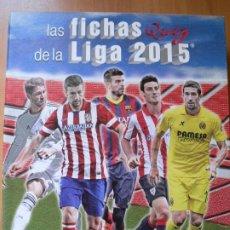 Álbum de fútbol completo: LIGA 2014 2015 14 14 MUNDICROMO COLECCIÓN COMPLETA EN ARCHIVADOR ORIGINAL DE ANILLAS. Lote 212017822