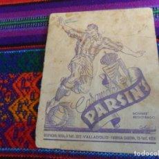 Álbum de fútbol completo: CARAMELOS PARSIN'S COMPLETO. REAL VALLADOLID DEPORTIVO. LIGA TEMPORADA 51 52 1951 1952. MUY RARO.. Lote 212186551