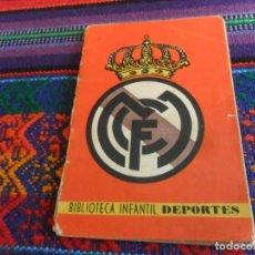 Álbum de fútbol completo: REAL MADRID COMPLETO BIBLIOTECA INFANTIL DE DEPORTES Nº 2 EDICIONES ALONSO. TEMPORADA LIGA 1941 1942. Lote 212187921