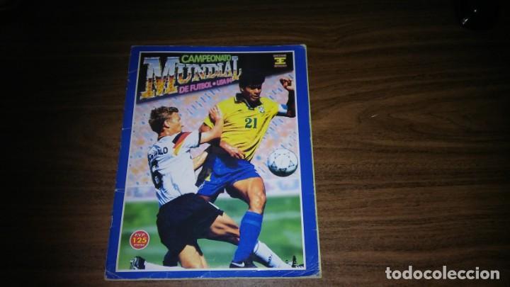 ALBUM CAMPEONATO MUNDIAL DE FÚTBOL USA 94 (EDICIONES ESTADIO) - COMPLETO (445 CROMOS) (Coleccionismo Deportivo - Álbumes y Cromos de Deportes - Álbumes de Fútbol Completos)