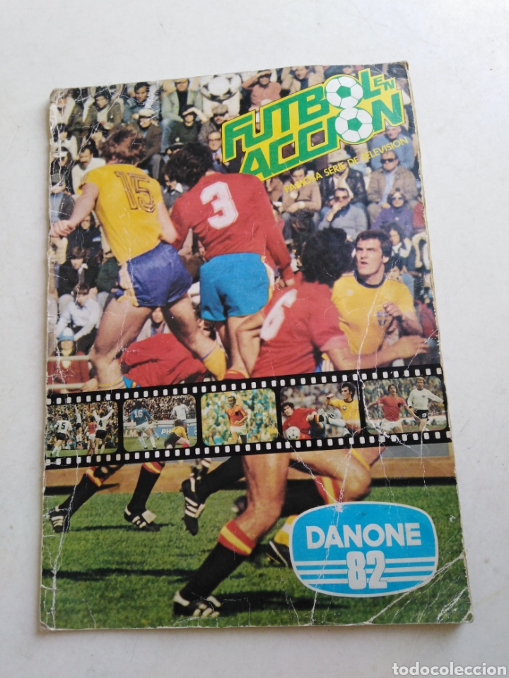 ÁLBUM DE CROMOS COMPLETO DE FÚTBOL ( DANONE 82 ) (Coleccionismo Deportivo - Álbumes y Cromos de Deportes - Álbumes de Fútbol Completos)