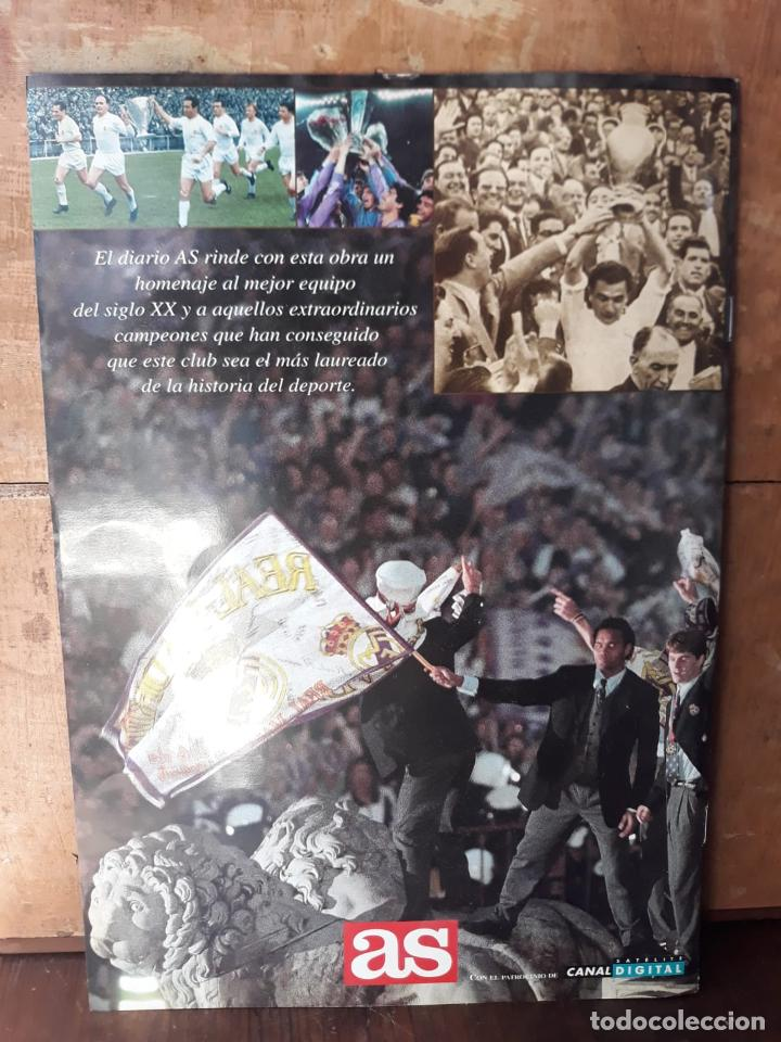 Álbum de fútbol completo: COLECCION LAS MONEDAS OFICIALES REAL MADRID DIARIO AS - GRANDES ASES ALBUM COMPLETO CROMOS - Foto 3 - 212419197