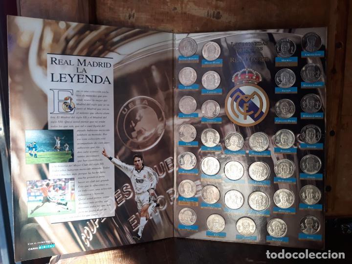 Álbum de fútbol completo: COLECCION LAS MONEDAS OFICIALES REAL MADRID DIARIO AS - GRANDES ASES ALBUM COMPLETO CROMOS - Foto 4 - 212419197