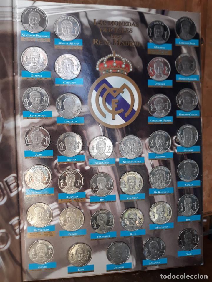 Álbum de fútbol completo: COLECCION LAS MONEDAS OFICIALES REAL MADRID DIARIO AS - GRANDES ASES ALBUM COMPLETO CROMOS - Foto 7 - 212419197