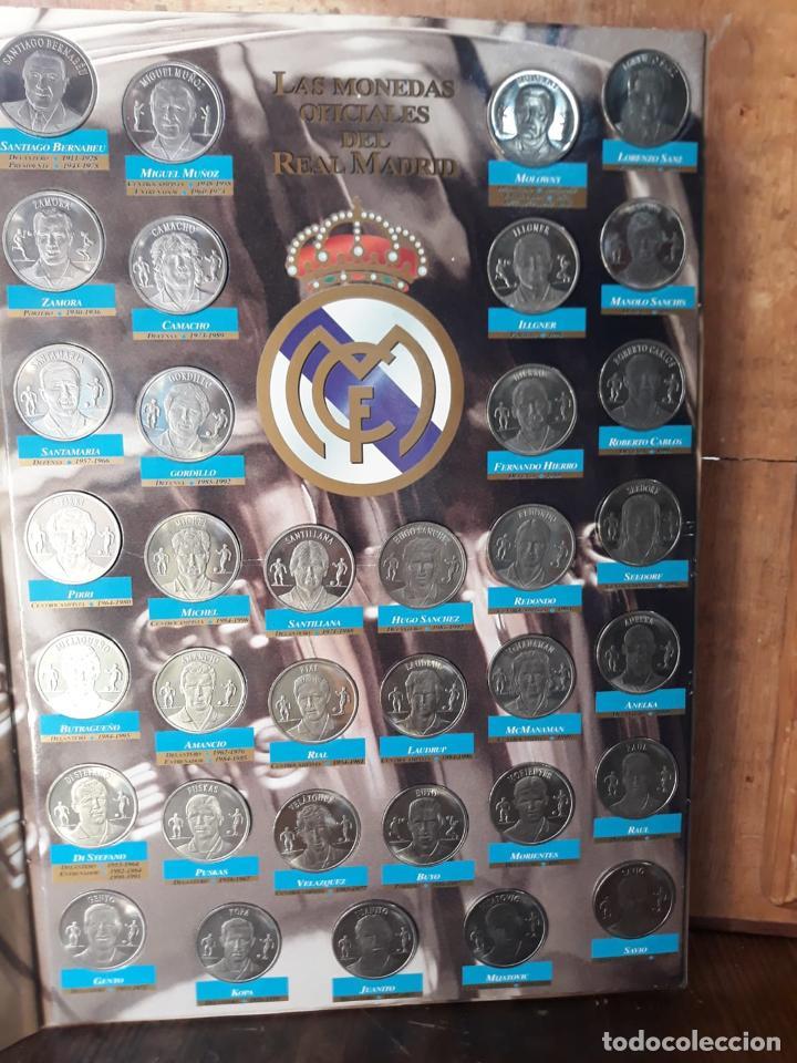 COLECCION LAS MONEDAS OFICIALES REAL MADRID DIARIO AS - GRANDES ASES ALBUM COMPLETO CROMOS (Coleccionismo Deportivo - Álbumes y Cromos de Deportes - Álbumes de Fútbol Completos)