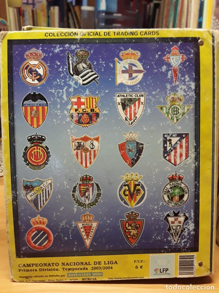 Álbum de fútbol completo: album fichas de la liga 2004 - ver fotos cromos - Foto 2 - 212463201