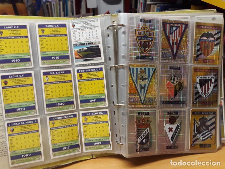 Álbum de fútbol completo: album fichas de la liga 2004 - ver fotos cromos - Foto 3 - 212463201