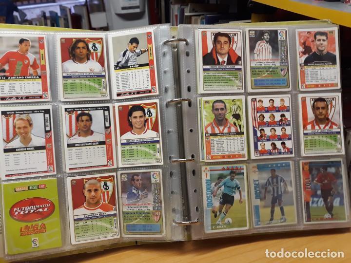Álbum de fútbol completo: album fichas de la liga 2004 - ver fotos cromos - Foto 16 - 212463201