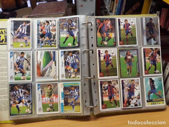 Álbum de fútbol completo: album fichas de la liga 2004 - ver fotos cromos - Foto 22 - 212463201
