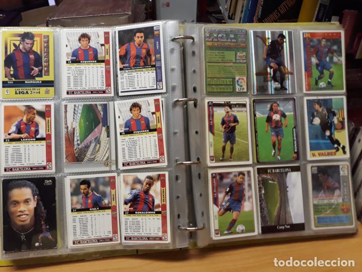 Álbum de fútbol completo: album fichas de la liga 2004 - ver fotos cromos - Foto 24 - 212463201
