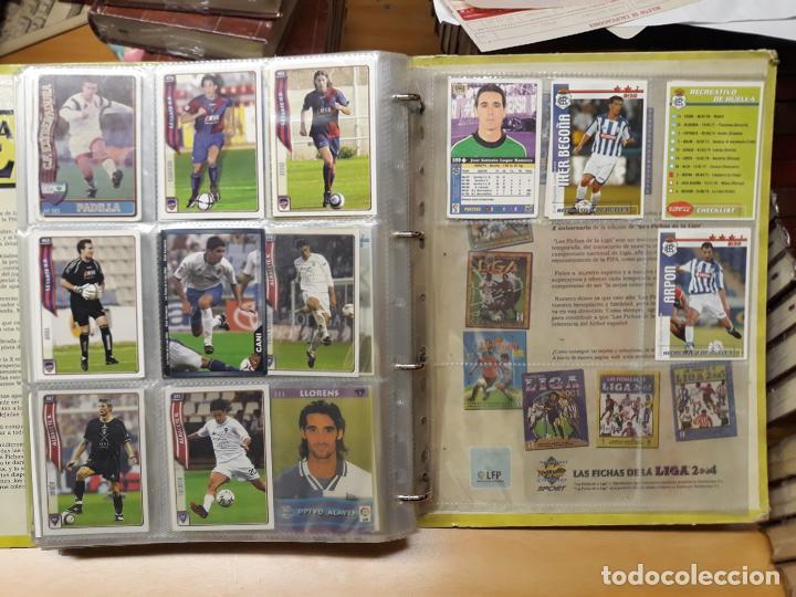Álbum de fútbol completo: album fichas de la liga 2004 - ver fotos cromos - Foto 34 - 212463201