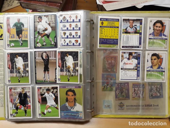 Álbum de fútbol completo: album fichas de la liga 2004 - ver fotos cromos - Foto 40 - 212463201