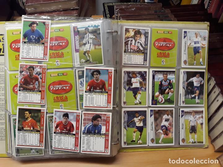 Álbum de fútbol completo: album fichas de la liga 2004 - ver fotos cromos - Foto 49 - 212463201