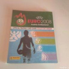 Álbum de fútbol completo: PANINI EURO 2008 TRADING CARD GAME ( COLECCION A FALTA DE 2 ) CON CRISTIANO. Lote 212522750