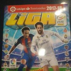 Álbum de fútbol completo: ÁLBUM ESTE 17/18 COMPLETO. Lote 212629342