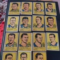 Álbum de fútbol completo: LOTE COMPLETO CROMOS FUTBOL CORUÑA 1940. Lote 212640512