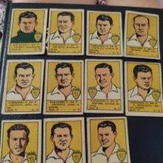 Caderneta de futebol completa: COLECCIÓN COMPLETA CROMOS FUTBOL ZARAGOZA 1940. Lote 212640800