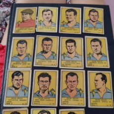 Álbum de fútbol completo: COLECCIÓN COMPLETA CROMOS CELTA AÑO 1940. Lote 212641411